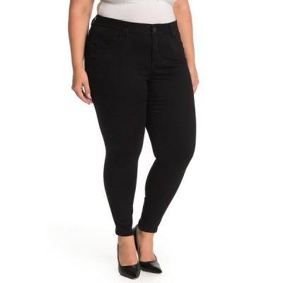 デモクラシー レディース デニムパンツ ボトムス Ab-Tech Skinny Ankle Jeans BLACK