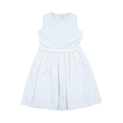 IL GUFO ワンピース&ドレス ホワイト 4 コットン 97% / ポリウレタン 3% ワンピース&ドレス