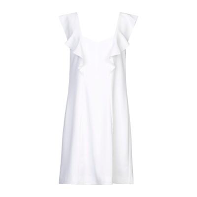 リュー ジョー LIU •JO ミニワンピース&ドレス ホワイト 44 ポリエステル 100% ミニワンピース&ドレス