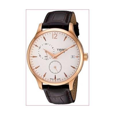 Tissot Men's Rose Gold Leather Strap Watch(並行輸入品)