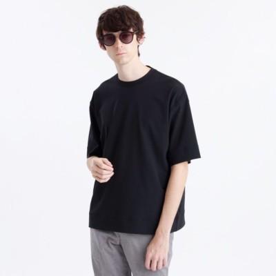 フロスティストレッチ クルーネック5分袖Tシャツ