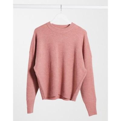 ドクターデニム レディース ニット・セーター アウター Dr Denim Lizzy knitted sweater in blush pink