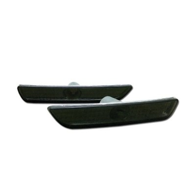 HS Power Smoke Clear Front Parking Bumper Side Marker Lights Lamps 10-