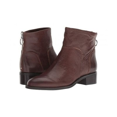 Franco Sarto フランコサルト レディース 女性用 シューズ 靴 ブーツ アンクル ショートブーツ Brady - Brown Cavalier Premium Leather