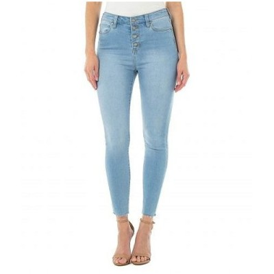Liverpool ライブプール レディース 女性用 ファッション ジーンズ デニム Abby Ankle Skinny w/ Exposed Buttons in Bayside - Bayside
