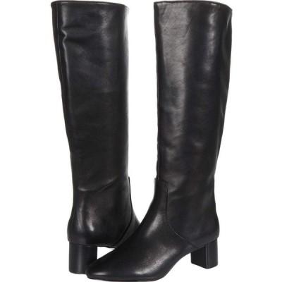 スティーブン ニューヨーク STEVEN NEW YORK レディース ブーツ シューズ・靴 Reallie Black Leather