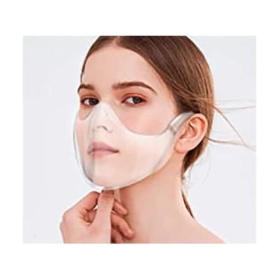 透明マスク 1枚 フェイスシールド 飛沫防止 拡散防止 マウスガード マスク 透明 防災 保護 国内在庫有り 送料無料