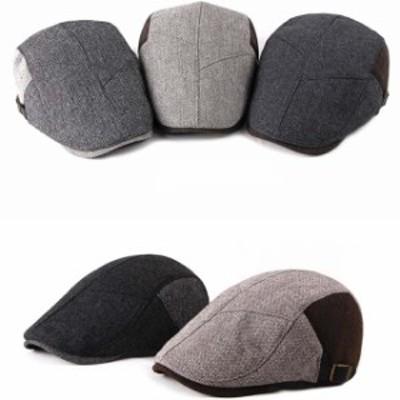 秋冬 帽子 メンズ 男女兼用 ハンチングハット 綿100%  ベレー帽 キャップ アウトドア 通気性 プレゼント人気
