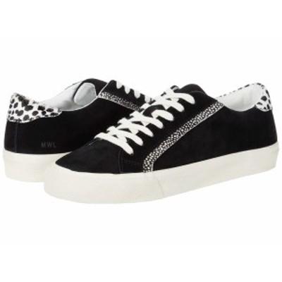 メイドウェル レディース スニーカー シューズ Sidewalk Low Top Sneakers Black/Ivory Multi
