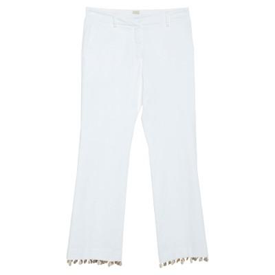 トゥルー ロイヤル TRUE ROYAL パンツ ホワイト 38 コットン 98% / ポリウレタン 2% パンツ
