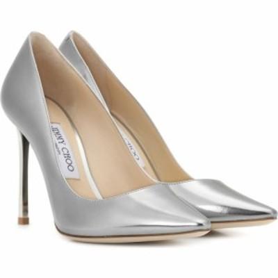 ジミー チュウ Jimmy Choo レディース パンプス シューズ・靴 romy 100 metallic leather pumps Silver