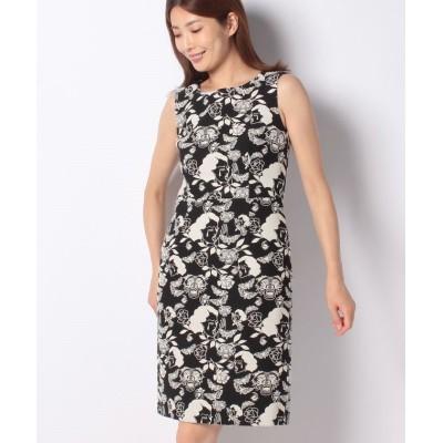 【ミス ジェイ】 Dutel クライングガールジャカード ドレス レディース ブラック 38 MISS J