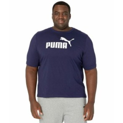 プーマ メンズ シャツ トップス Big & Tall Essential Logo Tee Peacoat
