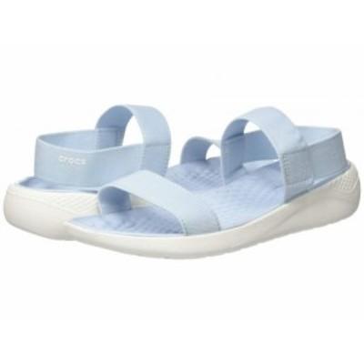crocs クロックス レディース 女性用 シューズ 靴 サンダル LiteRide Sandal Mineral Blue/White【送料無料】