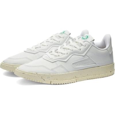アディダス Adidas メンズ スニーカー シューズ・靴 SC Premiere Vegan White/Off White/Green