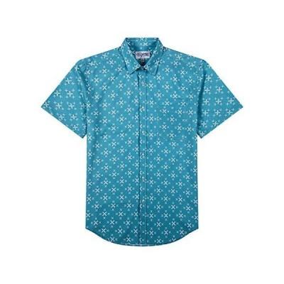 EPMO Hawaiian Shirts for Men Tropical Short Sleeve Printed Shirts