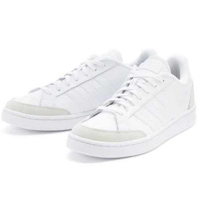 アディダス グランドコート adidas GRANDCOURT ホワイト/ホワイト/グレー FW6689 アディダスジャパン正規品