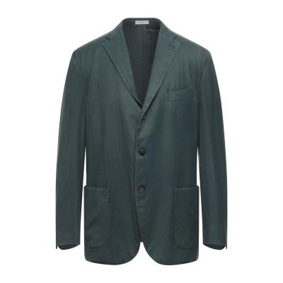 ボリオリ BOGLIOLI テーラードジャケット グリーン 58 ウール 100% テーラードジャケット