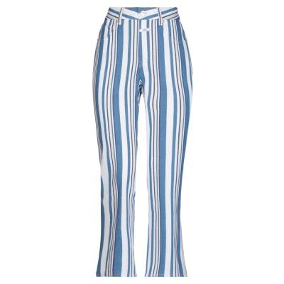 クローズド CLOSED パンツ アジュールブルー 24 コットン 97% / ポリウレタン 3% パンツ