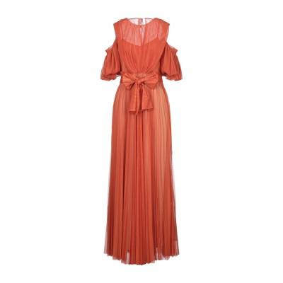 ノリータ NOLITA ロングワンピース&ドレス オレンジ 42 ポリエステル 100% ロングワンピース&ドレス