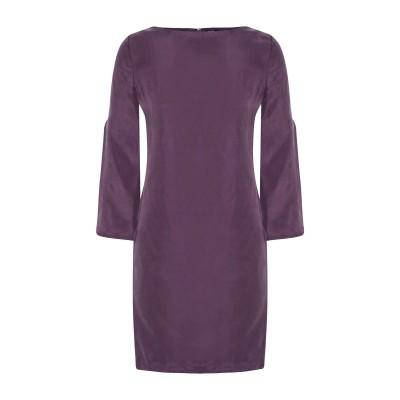 RAOUL ミニワンピース&ドレス パープル 32 シルク 100% ミニワンピース&ドレス