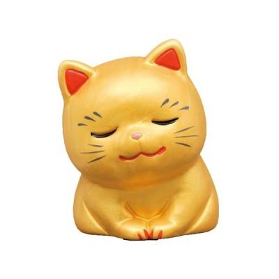 おいでやす招き猫金(中)