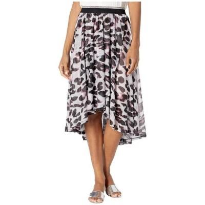 トリバル レディース スカート ボトムス High-Low Faux Wrap Skirt