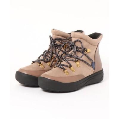 ブーツ 【晴雨兼用】【防滑】【防寒】トレッキング調ブーツ