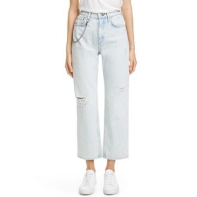 ラグアンドボーン レディース デニムパンツ ボトムス Ruth Super High-Rise Straight Leg Jeans NEW GIRL