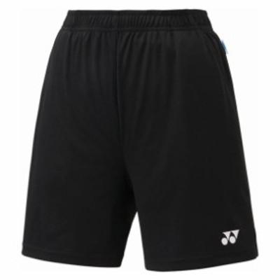 レディース ニットストレッチハーフパンツ【Yonex】ヨネックステニスゲームパンツ W(25008-007)