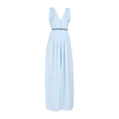 ピンコ PINKO ロングワンピース&ドレス アジュールブルー S ポリエステル 100% ロングワンピース&ドレス