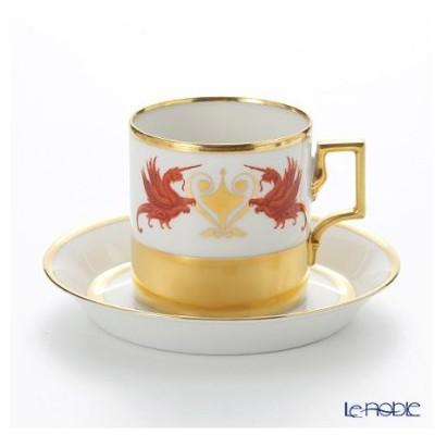 アウガルテン(AUGARTEN) グロリエット(6777) コーヒーカップ&ソーサー(098)