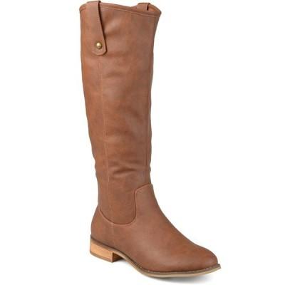 ジャーニーコレクション ブーツ&レインブーツ シューズ レディース Women's Taven Boot Brown
