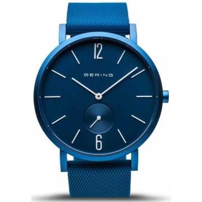 ベーリング 腕時計 Bering Time Watch - True Aurora ユニセックス Matte Blue 16940-799