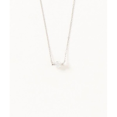 con affetto / Pt900 Diamond Necklace WOMEN アクセサリー > ネックレス