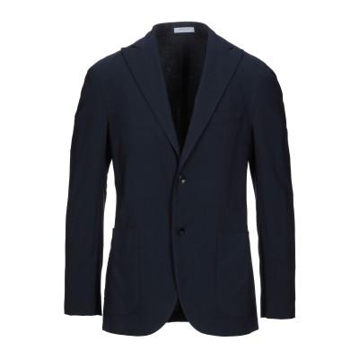 ボリオリ BOGLIOLI テーラードジャケット ブルー 48 バージンウール 100% テーラードジャケット