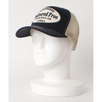 VARIOUS SHOP / TWILL MESH CAP BIG PATCH MEN 帽子 > キャップ