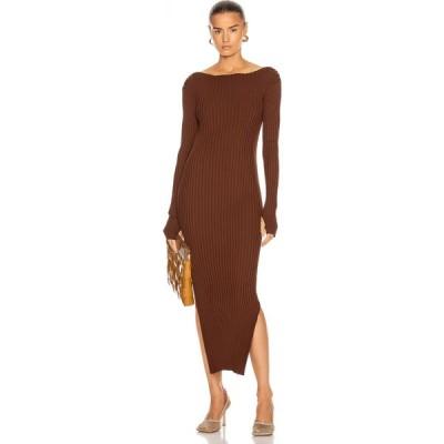 トーテム Toteme レディース ワンピース ワンピース・ドレス orville dress Dark Brown