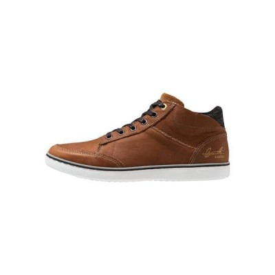 ブルボクサー メンズ 靴 シューズ High-top trainers - cognac