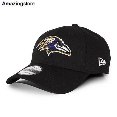 ニューエラ 9FORTY ボルチモア レイブンズ 【NFL THE LEAGUE ADJUSTABLE CAP/BLACK】 NEW ERA BALTIMORE RAVENS