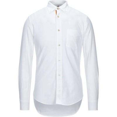 ポールスミス PAUL SMITH メンズ シャツ トップス Solid Color Shirt White