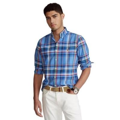 ラルフローレン メンズ シャツ トップス Men's Classic-Fit Tattersall Oxford Shirt