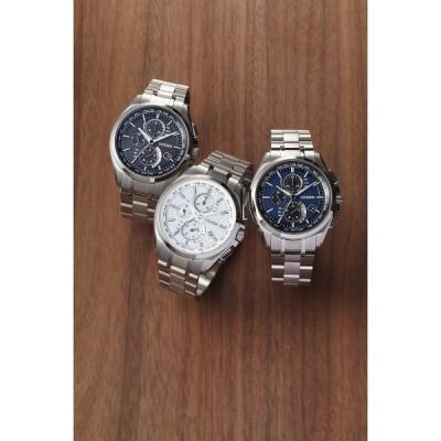 シチズン アテッサ ダイレクトフライト メンズ電波腕時計 ブラックAT8040−57Eアテッサ