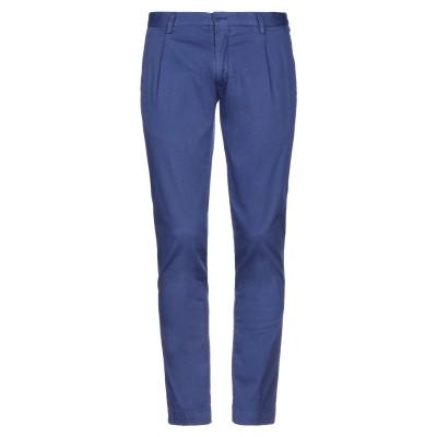 GABARDINE パンツ ブルー 46 コットン 98% / ポリウレタン 2% パンツ