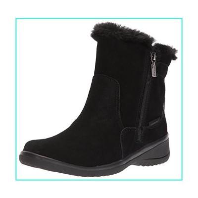 【新品】Blondo Women's Silas Waterproof Snow Boot, Black Suede, 9.5 M US(並行輸入品)