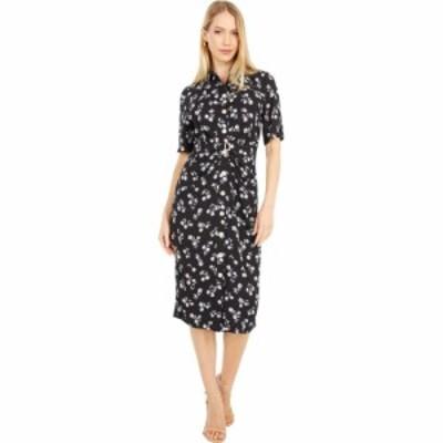 ケイト スペード Kate Spade New York レディース ワンピース シャツワンピース ワンピース・ドレス Dandelion Floral Shirtdress Black