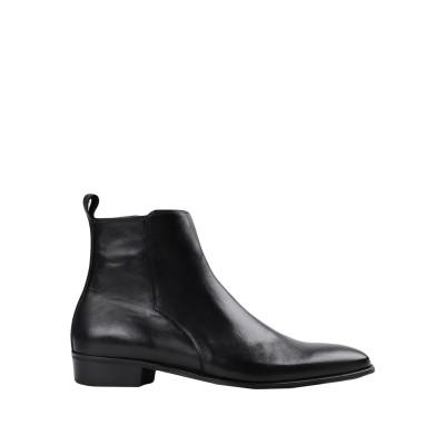 ARTIGIANI AURELIO GIOCONDI ショートブーツ ブラック 41 牛革(カーフ) 100% ショートブーツ