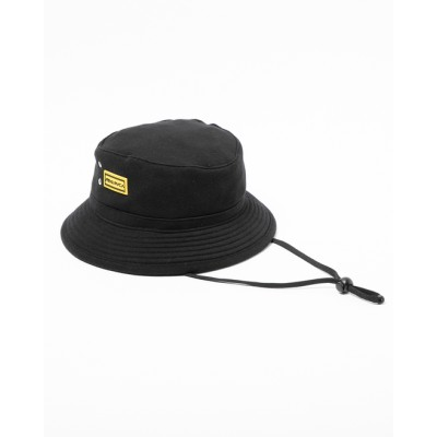 【OUTLET】RVCA メンズ DEEPS BUCKET HAT ハット BLK【2019年秋冬モデル】