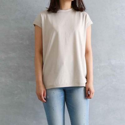 ハンドバーク handvaerk クルーネックスリーブレスTシャツ 60/2 C/N sleeveless t-shirt 6110 レディース ノースリーブ Tシャツ 春夏 無地