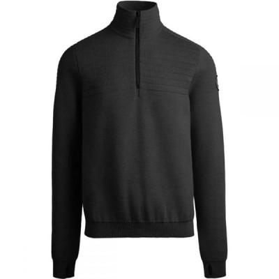 カナダグース Canada Goose メンズ ニット・セーター トップス Clarke 1/4 - Zip Sweater Black
